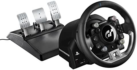 Thrustmaster T-GT (Lenkrad inkl. 3-Pedalset, Force Feedback, 270° - 1080°, Eco-System, Gran Turismo Lizenz, PS4 / PC)