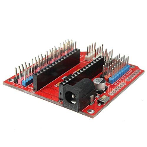41b2auyFbKL - WINGONEER Expansion Prototype Shield Módulo de Placa de extensión de E/S para Arduino Nano V3.0