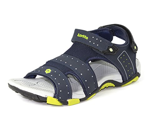 Lotto Men's Sandal Shark Navy Grey GT7069 UK/IN 6