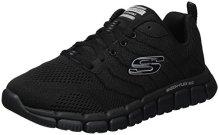 Skechers-Skech-Flex-20-Zapatillas-de-Deporte-Exterior-para-Hombre-Negro-Black-39-EU