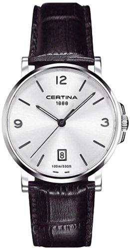Certina Herren-Armbanduhr XL Analog Quarz Leder C017.410.16.037.00