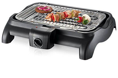 Severin PG 1511 Barbecue-Grill 2300W, colore: Nero