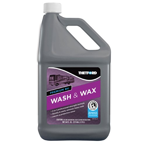 Thetford RV Wash & Wax 96014, 64 oz.