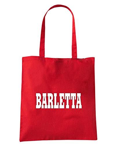 T-Shirtshock Borsa Shopper Rossa WC0934 BARLETTA ITALIA