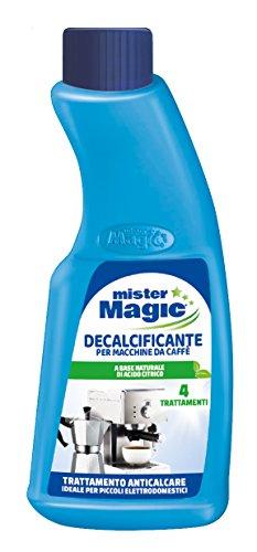 Mister Magic, Decalcificante Macchinetta Caffè, Trattamento Anticalcare, per Piccoli...