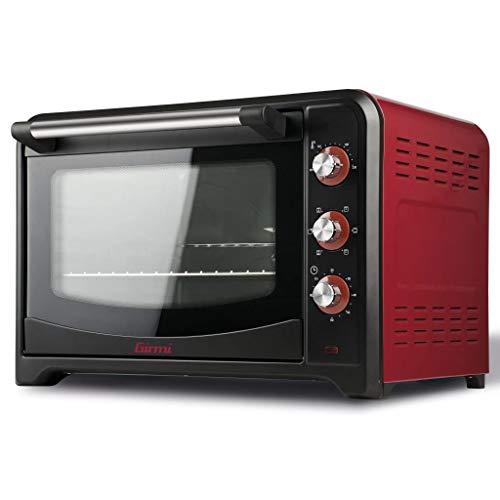 Girmi FE6000 Forno Elettrico, 2000 W, Stainless Steel, Rosso