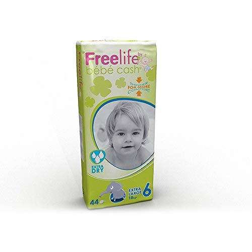 FreeLife Pannolini Extra Dry - Pacco da 44 x 540 gr