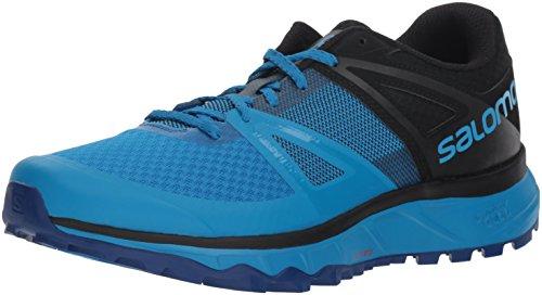 Salomon Trailster, Zaptillas de Running para Hombre, Azul Black/Indigo Bunting), 42 2/3 EU