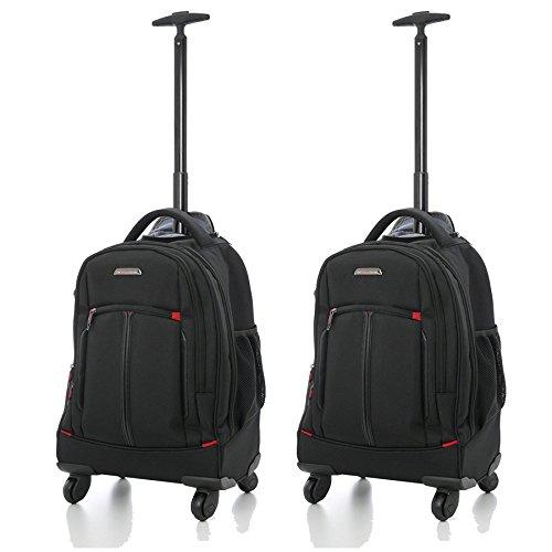 Aerolite 21'- Zaino/Trolley ideale come Bagaglio a Mano o Borsa per PC portatile - Cabina 4 ruote -...
