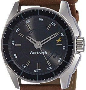 cc74bb0b893243 Fastrack Black Magic Analog Black Dial Men s Watch -NK3089SL05