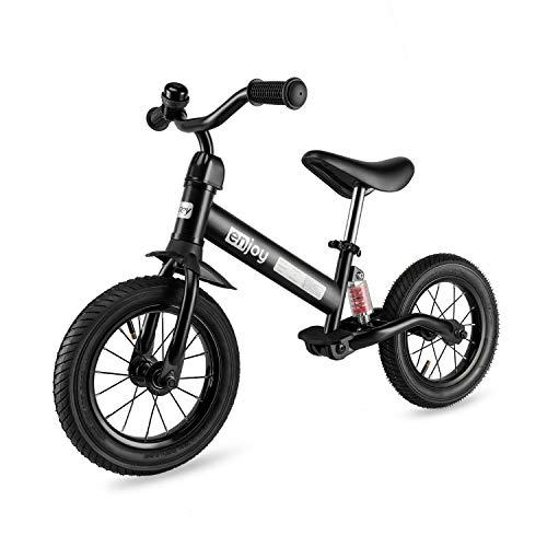 besrey Bicicletta Senza Pedali 12 Pollici 3.4.5 Anni con Ammortizzatore Centrale e Pneumatico...