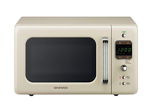 Daewoo KOR-6LBC Forno a Microonde Digitale, Crema, 20 lt