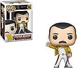 Funko- Figurines Pop Vinyl: Rocks: Queen: Freddie Mercury (Wembley 1986) Collectible Figure, 33732, Multcolour