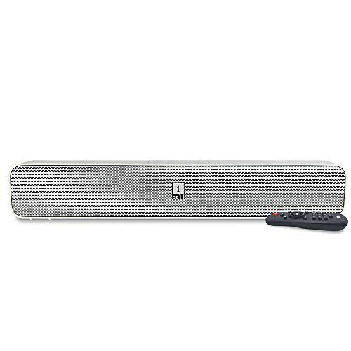 iBall Musi Bar High Power Compact Soundbar with Multiple Playback Options, White