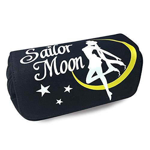 Sailor Moon - Astuccio portapenne con motivo anime cartoni animati