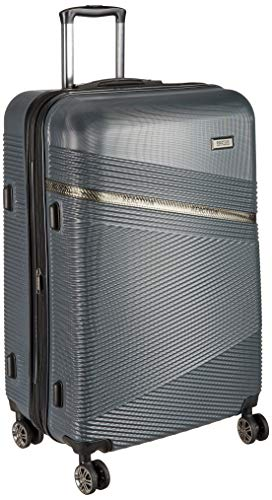 """Kenneth Cole Reaction ABS 28"""" Grey Hardsided Check-in Luggage"""
