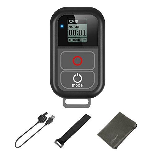 SHOOT Impermeabile 6.5ft(2m) Telecomando Comando Remoto per GoPro Hero 7 Black,Hero 6, 5, 4, 3, 3+, 3,Hero + LCD, 4 Session Wirless,Wi-Fi