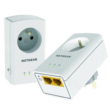 Exemple de branchement de caméra de surveilance sur des prises CPL - NETGEAR XAVB5622-100FRS