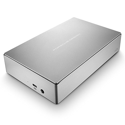 LaCie Porsche Design Desktop Drive 6000GB Silver external hard drive - external hard drives (6000...