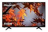 "Hisense H39A5100, TV Full HD, Motion Picture Enhancer, Clean View, DVB-T2 + S2, USB Media, HDMI, Natural Color Enhancer, Clear Sound, USB/Ethernet/USB, 39"", Negro"