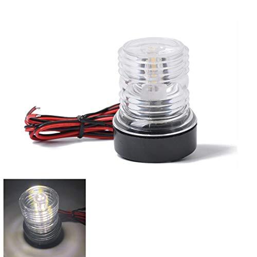 DONGMAO Luci di Navigazione Lampada di Navigazione 360 Gradi 12V LED Navigation Anchor Lampada...