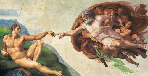 Clementoni Puzzle 38004 - Michelangelo - La creazione dell' uomo - 13200 pezzi High Quality...