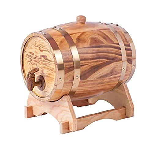 Botte Per Vino In Rovere Vintage Contenitore Per Vino In Legno 5L Distributore Di Acqua In Legno Per...