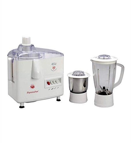 Signora Care SJG-1500 500-Watt Juicer Mixer Grinder (Cream/White)