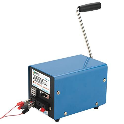 banbie8409 Generador inestable manual multifuncional al aire libre portátil 20W para la emergencia