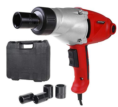 Matrix 120100230 Schlagschrauber Elektro, 1000 W, 230 V, rot, schwarz