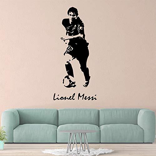 jiuyaomai Caldo Giocatore di Football Art Sticker Adesivi murali Impermeabili per la Camera dei...