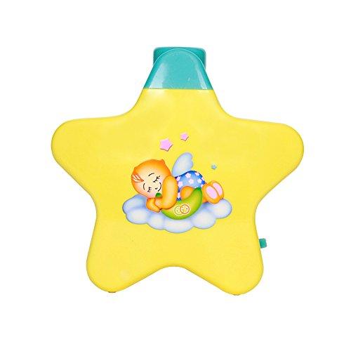 Amitasha Star Projector Babies Sleeping Toy   Little Angle Toy with Lights & Music