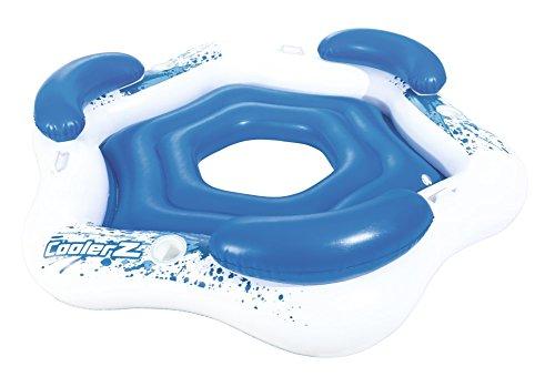 Bestway Schwimminsel Schwimmliege Badespaß Pool Liege Luftmatratze Badeinsel