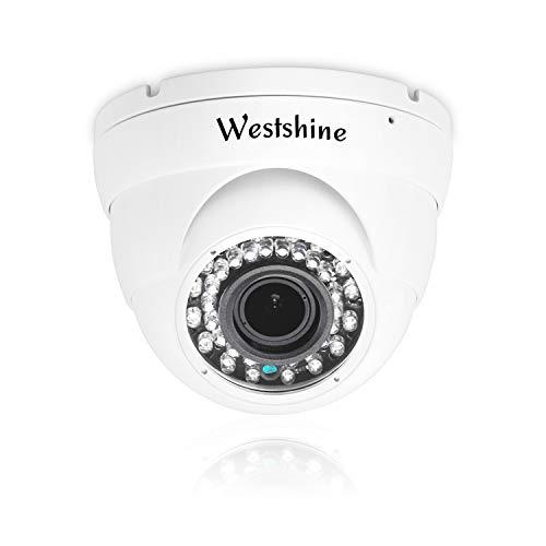 Telecamera di sicurezza 4K Telecamera dome 8MP Super HD AHD/TVI/CVI/CVBS IR, Telecamera IP66 3.6-10mm Varifocal 20M Telecamera di sorveglianza interna/esterna per la visione notturna