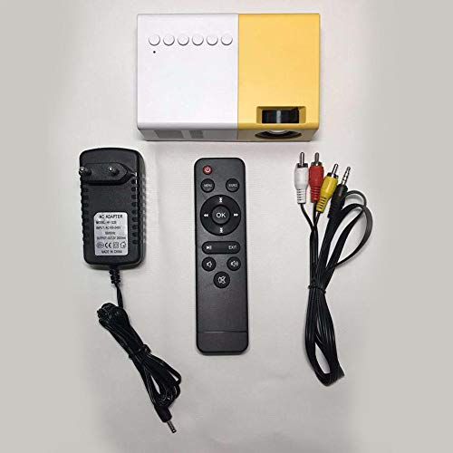LiféUP Mini Proiettore Portatile, Proiettore Video Multimediale A LED 2500 Lumens Per Smartphone PC...