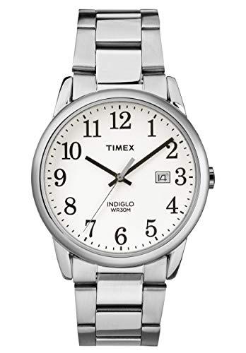 Timex Orologio Analogico Quarzo Uomo con Cinturino in Acciaio Inox TW2R23300