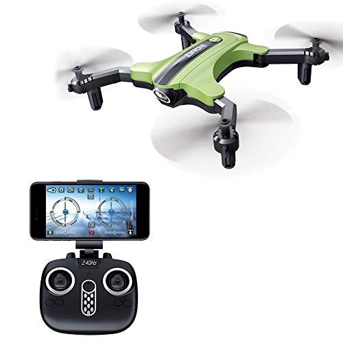 hifuture Droni con videocamera HD Mini Drone quadricottero Pieghevole, Mantenimento dell'altitudine,...