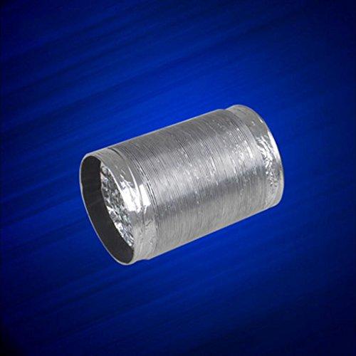 MXJ61 Tubo Flessibile del Tubo Ventilatore del Tubo di Scarico Diametro della Lamina di Alluminio...