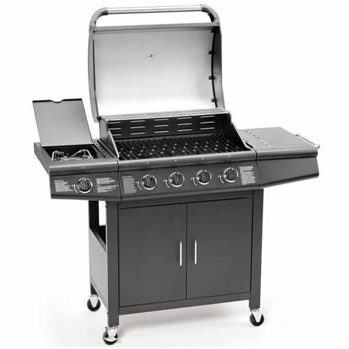 Overall, this brand could potentially suit your needs because it is easy to clean, there is plenty of space under the grill itself to store things, and it has a built in thermometer and temperature display. This would be a highly recommended product if it included the gas hose pipe. Though, the one year warranty may make this an easy pick.