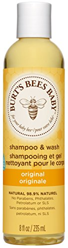 Burt's Bees Natürlich Baby Shampoo und Waschgel, keine Tränen, mildes Shampoo, 1er Pack 235 ml