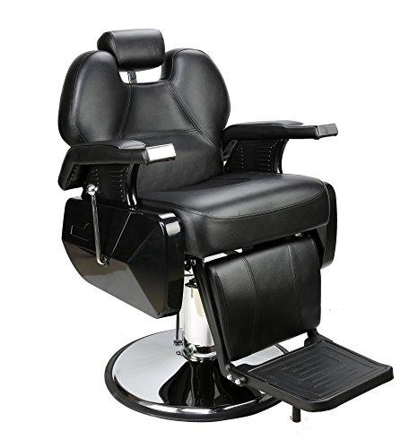 Barberpub Poltrona da parrucchiere Poltrona da lavoro Poltrona da lavoro Attrezzature per parrucchiere Sedia idraulica 2687BK