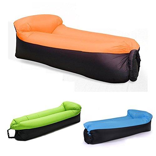 Gonfiabile Lounger Divano Sacco a pelo, NewMum portatili compressione lettini ad aria, ideale per rilassarsi, campeggio, spiaggia, piscine, Camping ecc