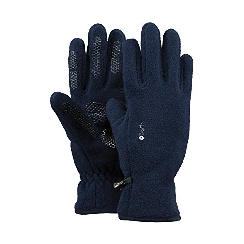 Barts Fleece Glove Kids, Guanti Bambini Unisex, Colore Blu, Taglia 6-8 Anni (Taglia Produttore: 4)