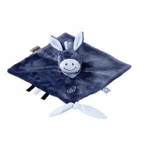 Nattou 321150 juguete de peluche - Juguetes de peluche (Animales de juguete, Azul, Burro, Niño/niña, 30 °C, 270 mm)
