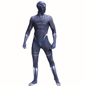 Marvel Black Panther Anime Costume The Avengers Fancy Dress Performance Traje Prop Body Trajes Adultos Niños Halloween Disfraz De Navidad