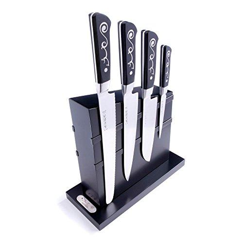 I.O. Shen - Magnetischer Messerblock mit 4 Messern