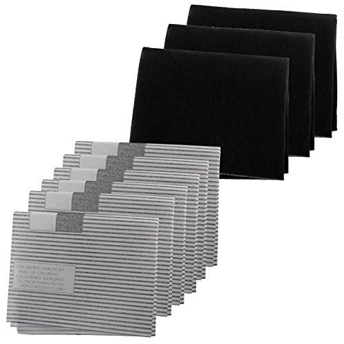 Spares2go filtro cappa Grease kit per Galvamet cucina Extractor fan Vent (6x grasso, 3x filtri a...