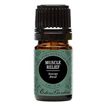 Muscular alivio sinergia mezcla aceite esencial por Edens jardín (clavo, Helichrysum, menta y Gaulteria), 5 ml, 1
