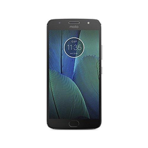 """Motorola Moto G5S Plus - Smartphone Libre de 5.2"""" Full HD, 3.000 mAh de batería, cámara de 13 MP, 4 GB de RAM + 32 GB de Almacenamiento, procesador Snapdragon de 2.0 GHz, Color Gris"""
