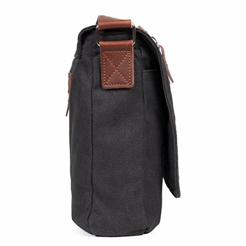 2882f90b3f Messenger-BagLOSMILE-Mens-Canvas-Shoulder-Bag-Crossbody-Bag-